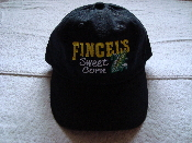 Fincel's Sweet Corn Black Unstructured Cap
