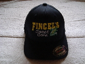 Navy Fincel's Sweet Corn FlexFit Hat