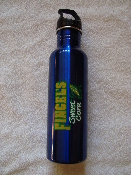 25 oz. Blue Stainless Steel Water Bottle