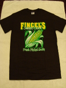 Fincel's Sweet Corn T-Shirt in Chocolate Brown