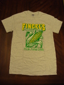 Fincel's Sweet Corn T-Shirt in Ash Grey